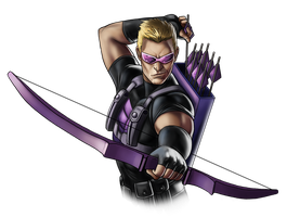 Canceled project - Hawkeye by Fan-the-little-demon