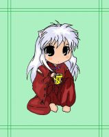 Chibi Inuyasha - Commission for L0RDINUYASHA by Bazylyk19