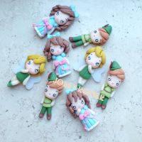 Peter pan wendy and Thinker bell by Mameah
