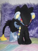Luxray Plush by Julika-Nagara