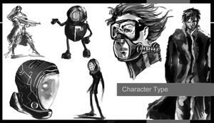 Uni Update - Character Types by Orrinoco