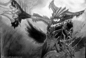 Outworld Destroyer Dota 2 by Flamecandle
