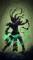 SpeedPaint 14 - Karmageddon, Witch Doctor by Vexod14