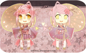 +. hanadopt #1~Cherry Blossom [auction/paypal] by sen-kou