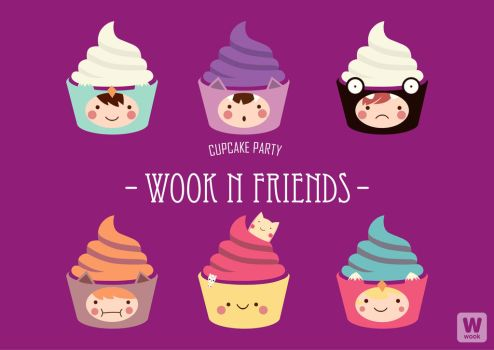 cupcake party wooknfriends by kum---kum