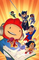 scribblenauts 3 cover by a-archer