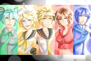 Dat Vocaloids by J0S3F3R