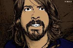 Dave Grohl by wentzizzlesizzle