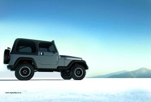 wrangler sporty-outdoor by 3dmanipulasi