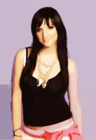 Ashlee Simpson Vector by RankNo1