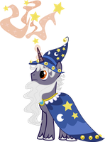 Commission: Starswirl The Bearded by jaybugjimmies