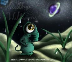 Uggy the little alien by Munchkinmay