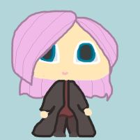 Chibi Tonks by MysticRavenclaw