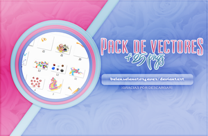 +PACK DE VECTORES. by BelSelenator4ever