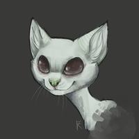 Cat by FalkaNairero