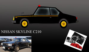 Nissan Skyline C210 by pete7868
