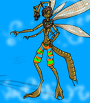 Antlion Insecthro by RoomsInTheWalls
