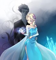 When the Dark King Meets Ice Queen by AmberClover
