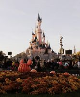 Magical Disney Castle. by bexa-rose12