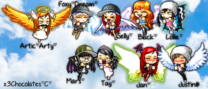 The Whole Angel [Woozworld] Crew. by x3Chocolates
