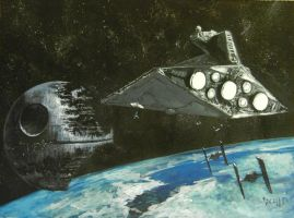 the empire my painting by cliford417