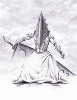 Pyramid Head is Lonely by Jimet