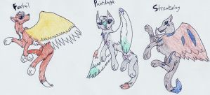 Winged Canine Adopts (3-5 Points Each) .:Open:. by Shadowhawk-Adopts