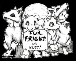 FurFright or Bus by o-kemono