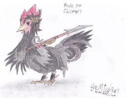 Kuro Pit... As a CHICKEN?!? by MicoNutziri