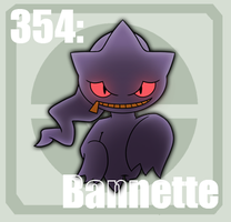 354 Banette by Pokedex