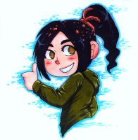 Vanellope by Keed-Kat