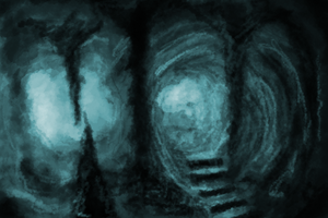Cave Speedpainting by Ag3ntPenguin