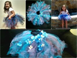 Spring Garden tutu collage by MaiseDesigns