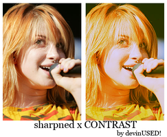 sharpned x CONTRAST by devinUSED