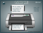 PrintJet icon by ilnanny