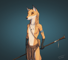 Character Concept #2 (Riya) by TitusW