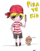 Pirate Kid coloured by Bel-chan