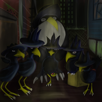 Murkrow Mafia by HardyRR
