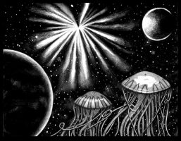 Astral Jellyfish Heaven by Shane-01