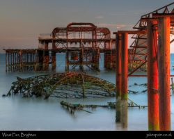 West Pier, Brighton by JakeSpain