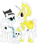 fan stuff BlueStarBrony And The Headcanon Theorist by daylover1313
