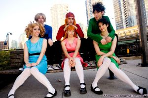 Powerpuff and Rowdyruff by The-Cosplay-Scion