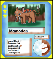 Mamodon Card (Adopt) by Dianamond
