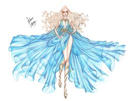 Daenerys Targaryen by frozen-winter-prince