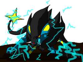 Zeus The Luxray by DrappingMalice