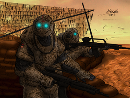 R.K.M Infantry of Marine by Shabazik