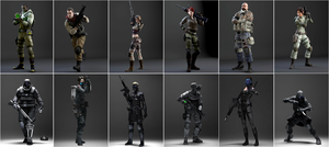 Resident Evil Operation Raccoon City by stalkersdxx