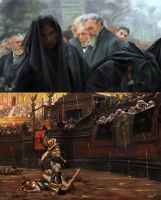 Jean-Leon Gerome and Emile Friant  Studies by PTimm