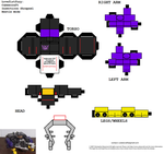 Insecticon Shrapnel cubee by lovefistfury