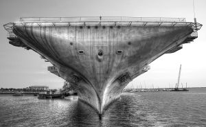 Anchors Aweigh B+W by manoverboard987